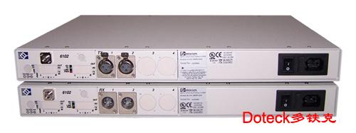 美国bci: 6102系列 立体声音频数字光端机